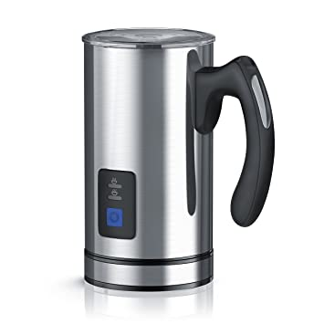 Arendo - Espumador de leche automático | Batidor de leche/Milk Frother | 2 botones