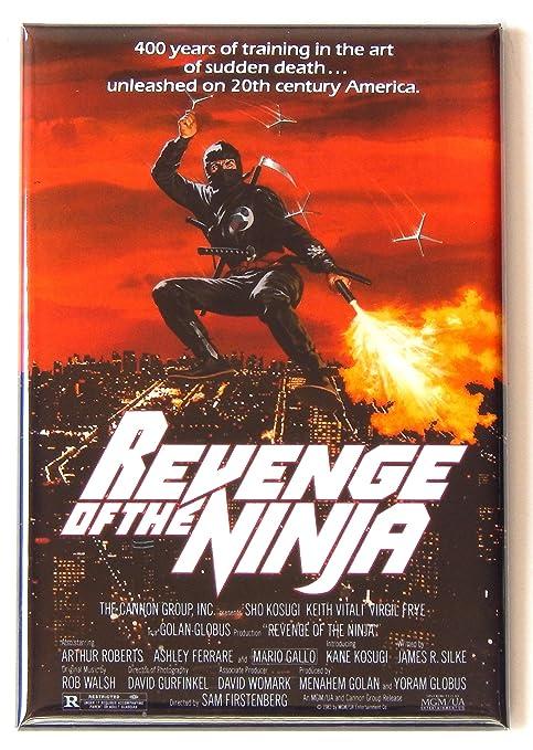 Amazon.com: Revenge of the Ninja Movie Poster Fridge Magnet ...