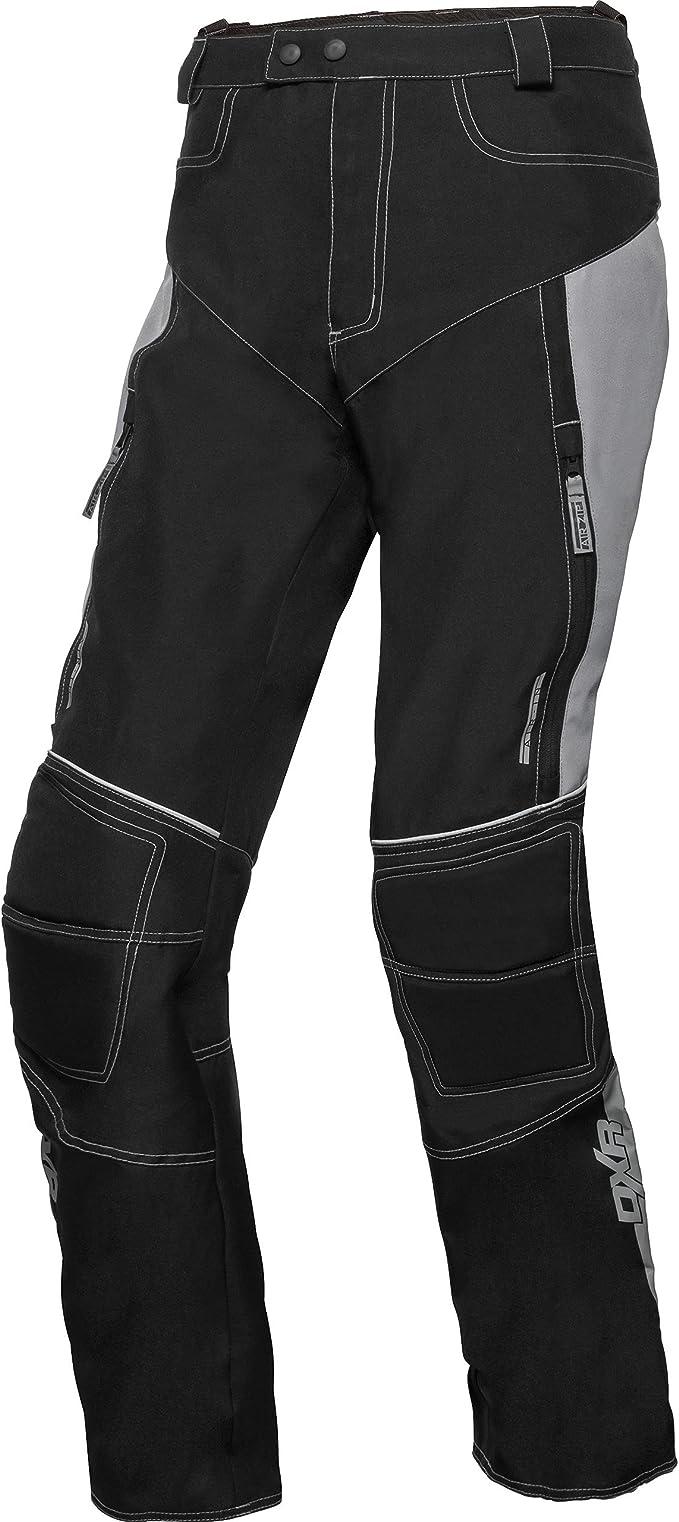 Motorrad Hose Textil Hose Sommer Touring Textil Hose schwarz Gr:S-5XL
