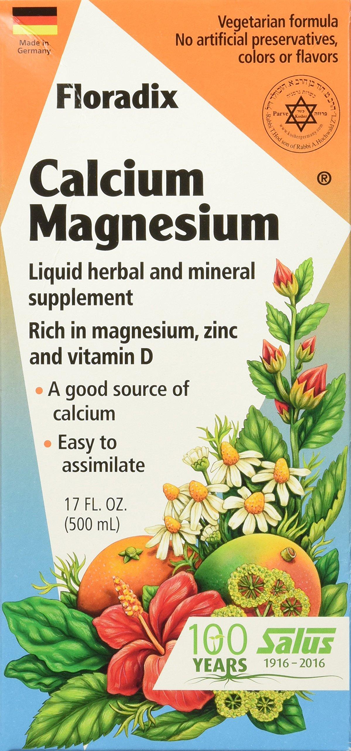 Salus-Haus - Floradix Calcium-Magnesium Liquid - 17 oz