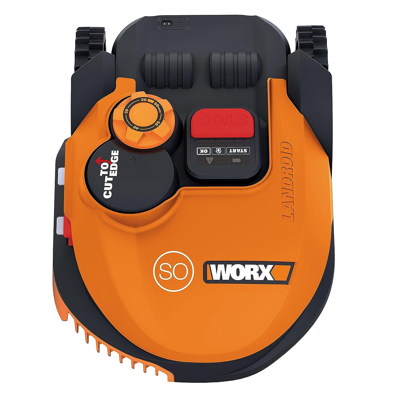 WORX WR105SI Robot Robot cortac/ésped, 2 cm, 6 cm, 68 dB, Naranja, Bater/ía Cortac/ésped