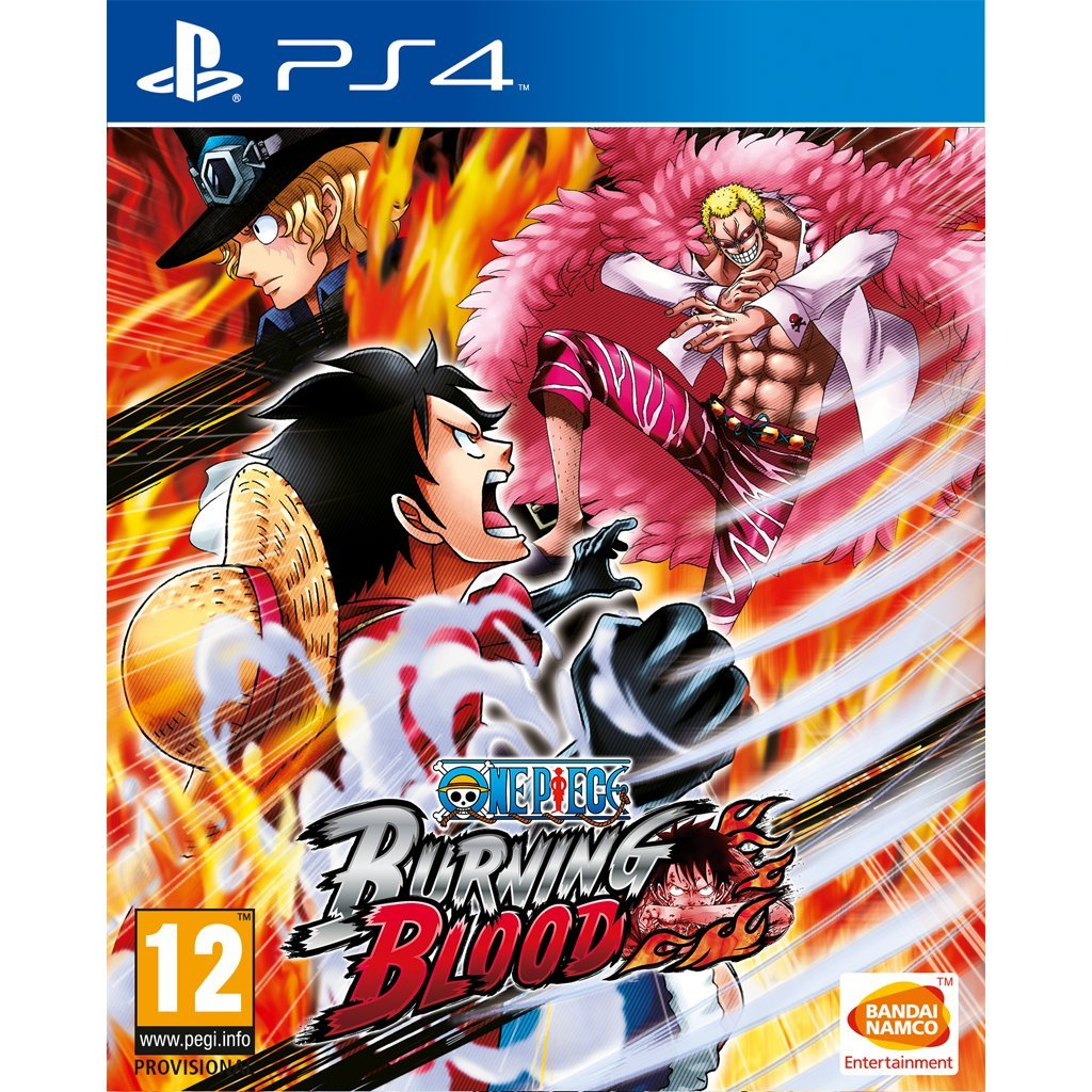 One piece burning blood ps4 amazon co uk pc video games