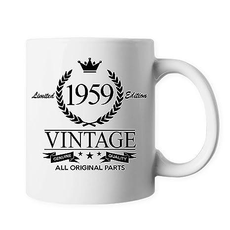Amazon.com: ELEPHIELD Taza de café de cerámica con diseño ...