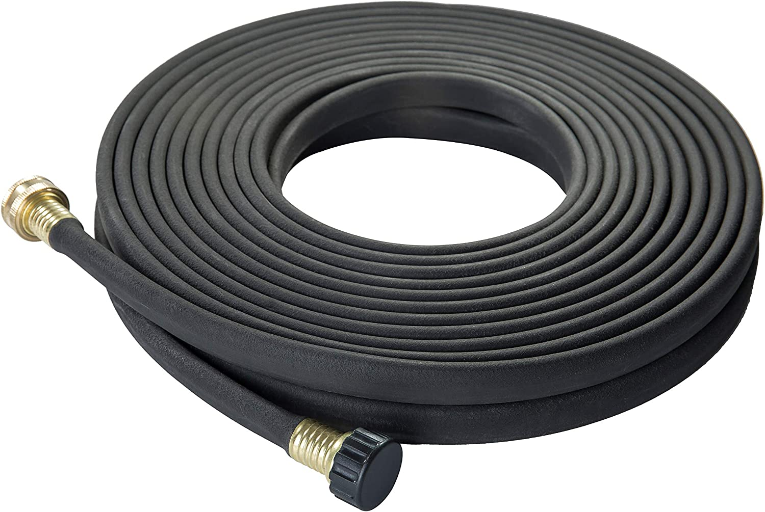 LINEX Garden Soaker hose More Water leakage Heavy Duty Metal Hose Connector Ends 1/2 inch x 50 ft