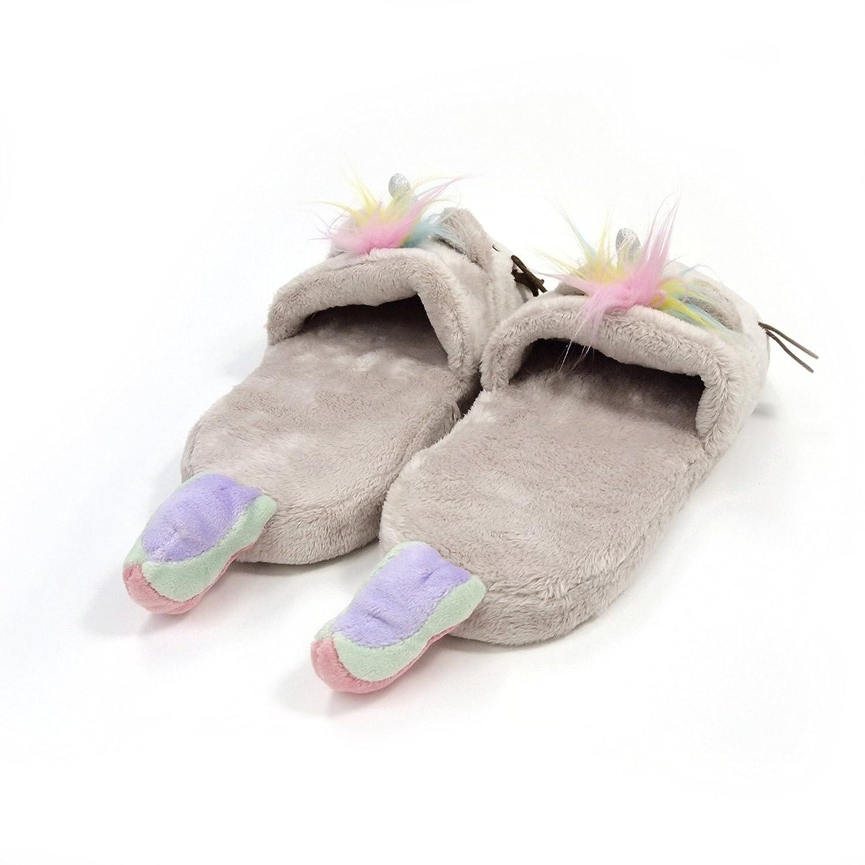 12 Tan GUND Pusheen Cat Plush Stuffed Animal Slippers