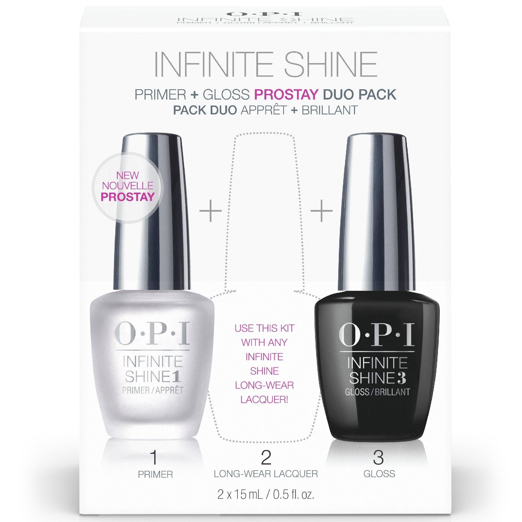 OPI Infinite Shine ProStay Primer & Gloss Duo Pack, 1 Fl Oz by OPI