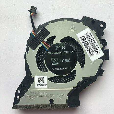 3CTOP Ventilador de refrigeración para Ordenador portátil HP ...