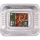 Jetfoil Aluminum Foil Steam Table Pans, Half Size Deep, 9x13 Pans (30 Pack)