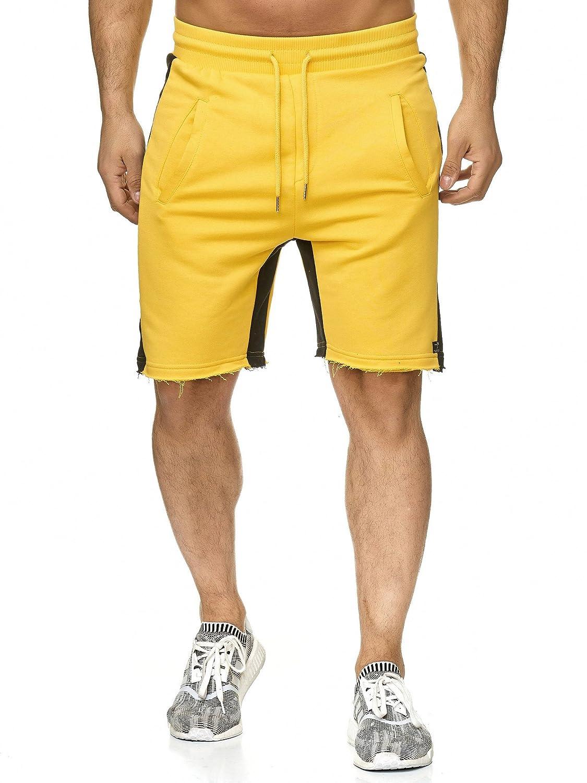 Redbridge Hommes Gym Shorts Ray/é de Base Bermuda Fitness Sweatpants