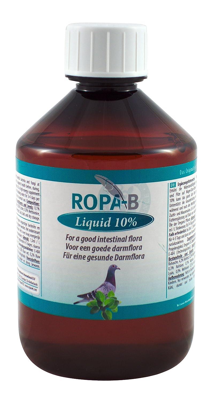 ropa-b Flüssigkeit 10%, 500ml, (Quintessenz Oregano 10% für den Erhalt der optimalen Bedingungen an Tauben und Vögel) ropa-b Flüssigkeit 10% 500ml