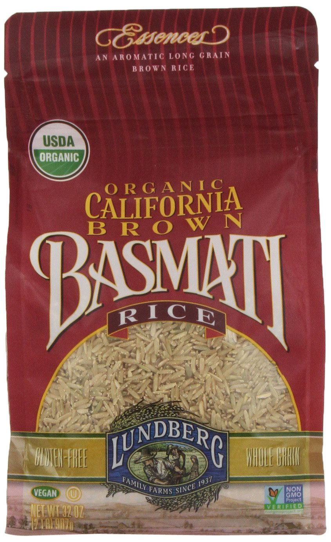 Lundberg Organic California Brown Basmati Rice, 32 Ounce