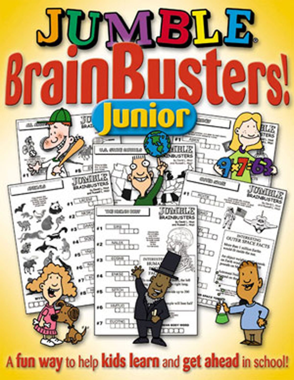 Jumble® BrainBusters Junior: A Fun Way to Help Kids Learn and Get Ahead in School (Jumbles®)