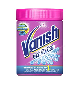 Vanish Oxi Action Quitamanchas para Ropa en Polvo - 500 gr: Amazon.es: Amazon Pantry