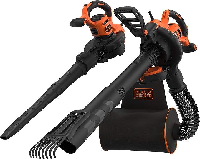 Black+Decker QS BeBLV301 - Soplador, aspirador y Triturador de ...