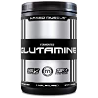 KAGED MUSCLE, L-Glutamine Powder 500 Gram, Vegan, Support Muscle Recovery, Post...