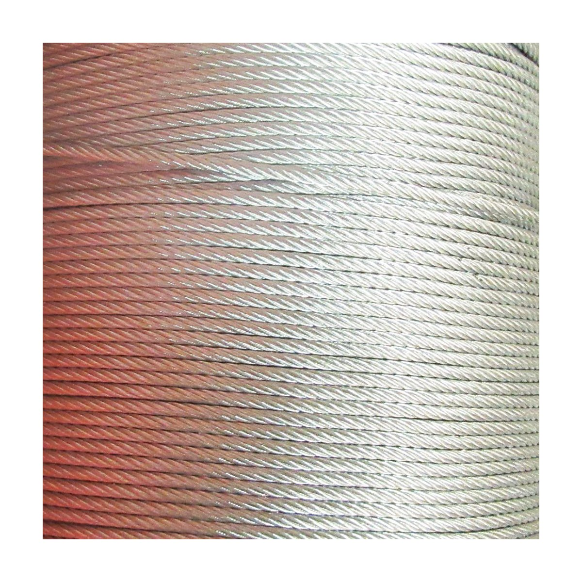 5mm (6 x 12 f.c.) GALVANIZED STEEL WIRE ROPE METAL CABLE HARDWARE (10 Metres) Warrenpoint Hardware