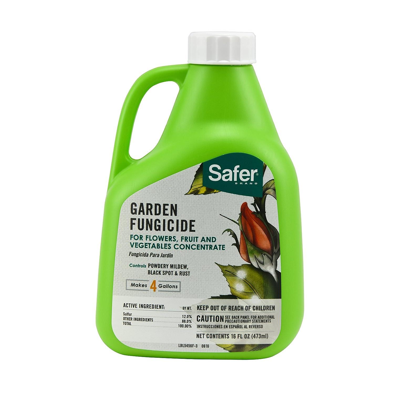 Amazon.com : Safer 5456 Garden Fungicide Concentrate, 16-Ounce ...