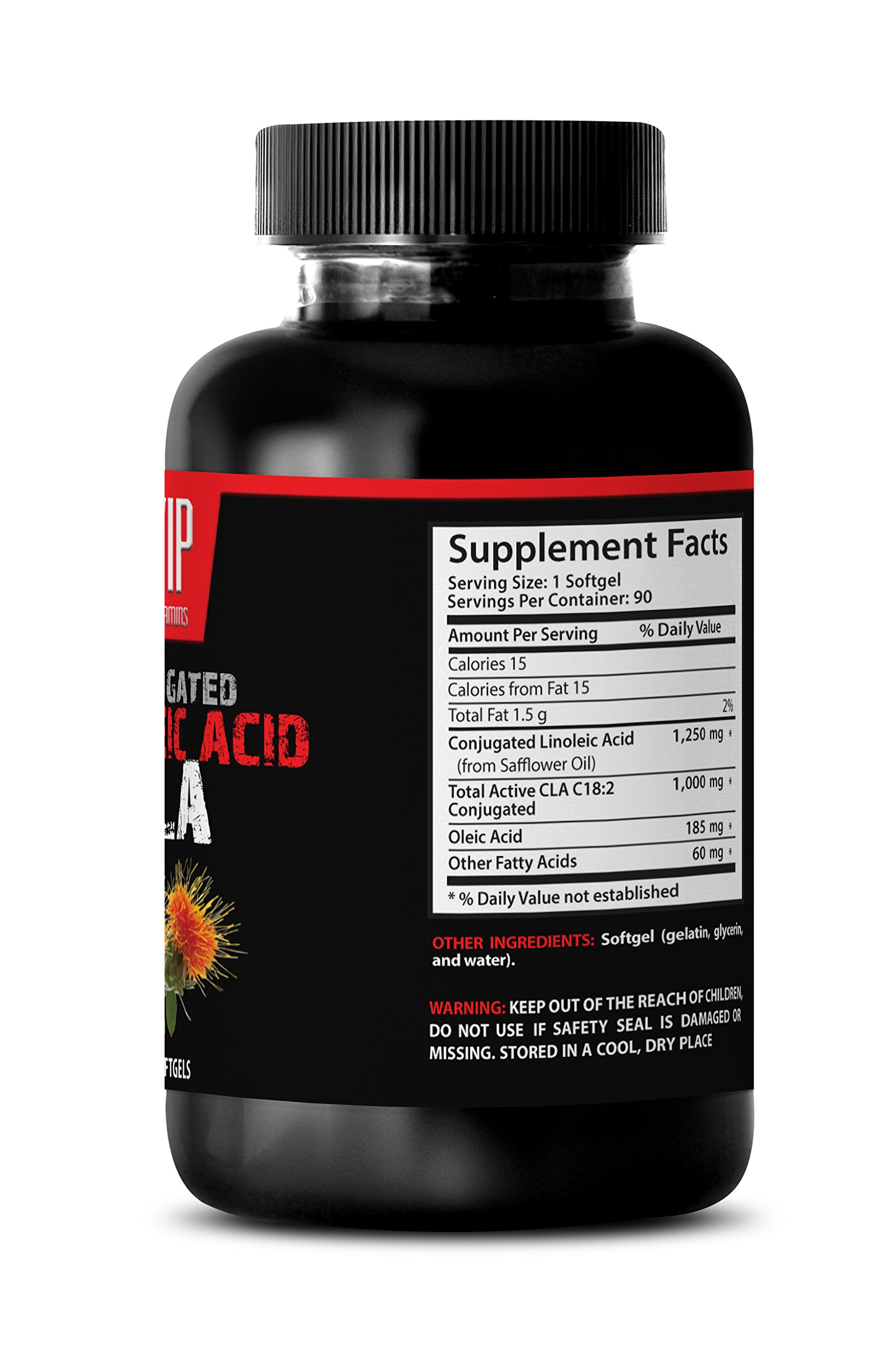 Conjugated linoleic acid - Conjugated Linoleic Acid CLA - Conjugated linoleic acid weight loss - 6 bottles 270 softgels by VIP VITAMINS (Image #3)