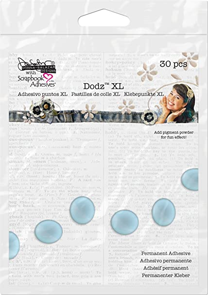 Amazon.com: 3L Scrapbook Adhesives Permanent Dodz, 3D, 1/2-Inch, 100/Pack, Clear: Arts, Crafts & Sewing