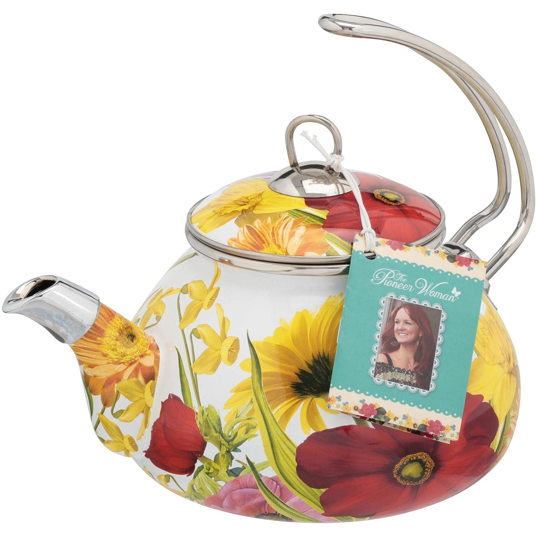 The Pioneer Woman Flower Garden 2.3 qt Tea Kettle 82986.01R