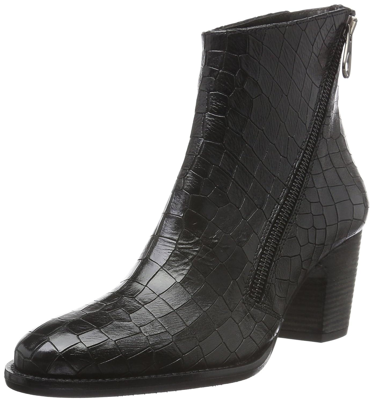 Zinda Damen 25 Kurzschaft Stiefel Schwarz (Negro)
