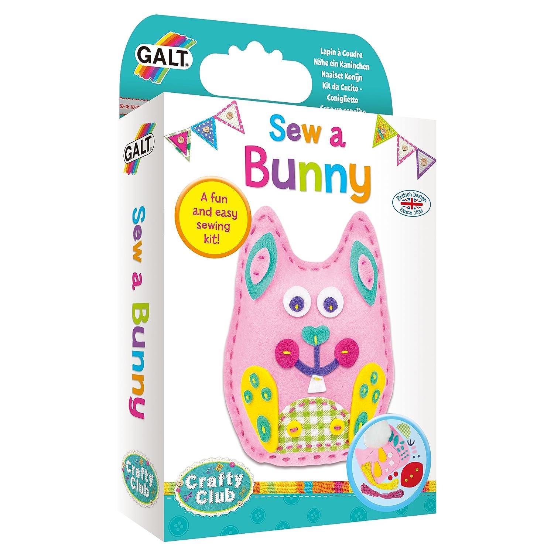 Galt Toys - Kit de costura de conejo, kits de manualidades para ...