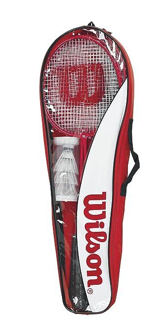 Amazon.com : Wilson Badminton Tour Set : Badminton Rackets : Sports & Outdoors