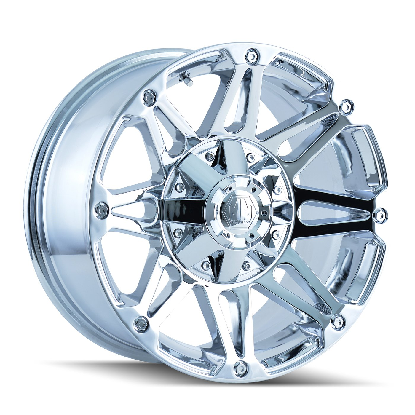Mayhem Riot 8010 Chrome Wheel (20x9''/12x139.7mm) by Mayhem (Image #1)