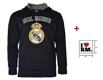 Real Madrid Forro Polar chaqueta con capucha para mujer ...