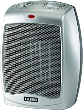 Lasko 1500W Ceramic Portable Space Heater with Adjustable Thermostat