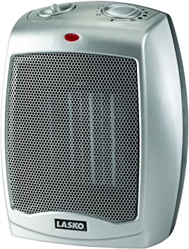 Lasko Ceramic Portable Space Heater Silver 75