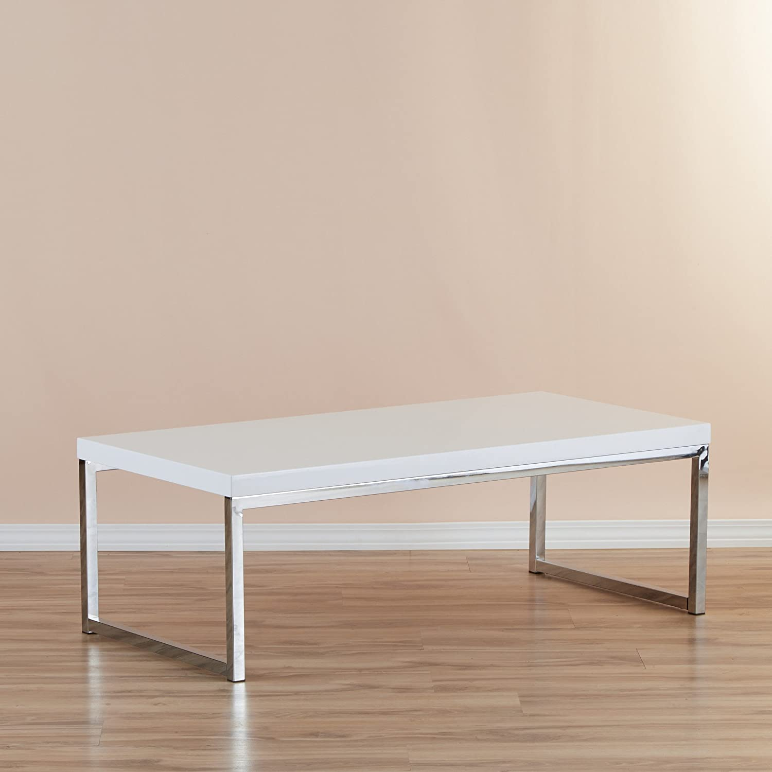Amazon Zipcode Design Addison Coffee Table with Steel Frame