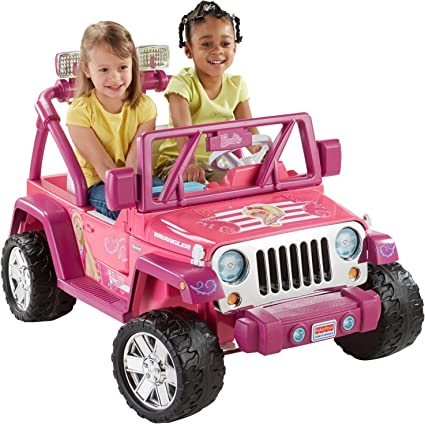 Amazon.com: Power Wheels Barbie Deluxe, Jeep Wrangler: Toys & GamesAmazon.com