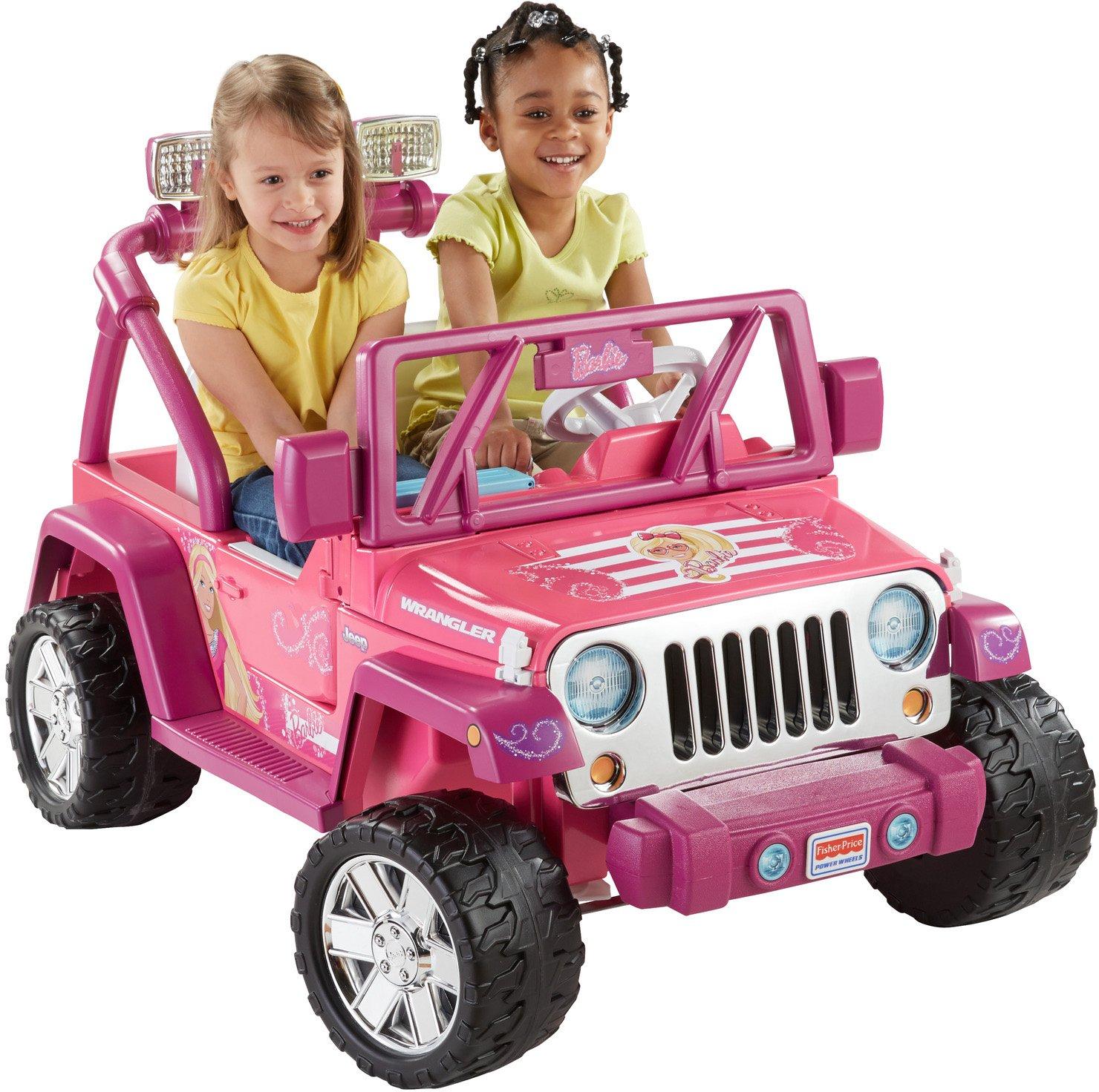 Power Wheels Barbie Deluxe Jeep Wrangler Toys Games Parts Diagram