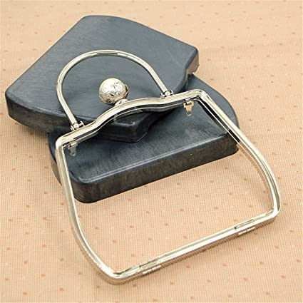 Amazon.com: Ownstyle 18cm Metal Purse Frame With Handle Pearl Clasp ...