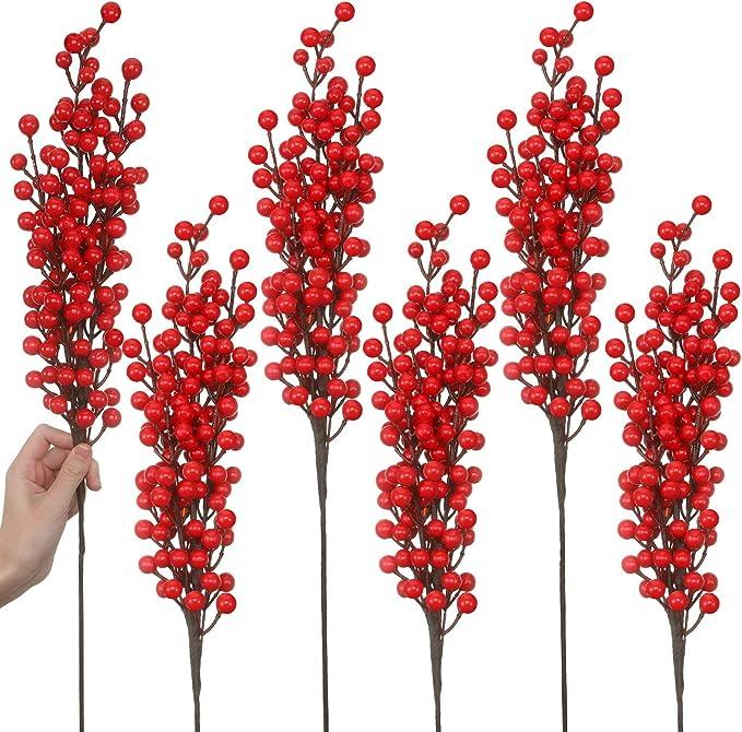 Bacche Artificiale ramo bacche ARTE Fiore Arte Pianta 70 cm n-11724-9 f24
