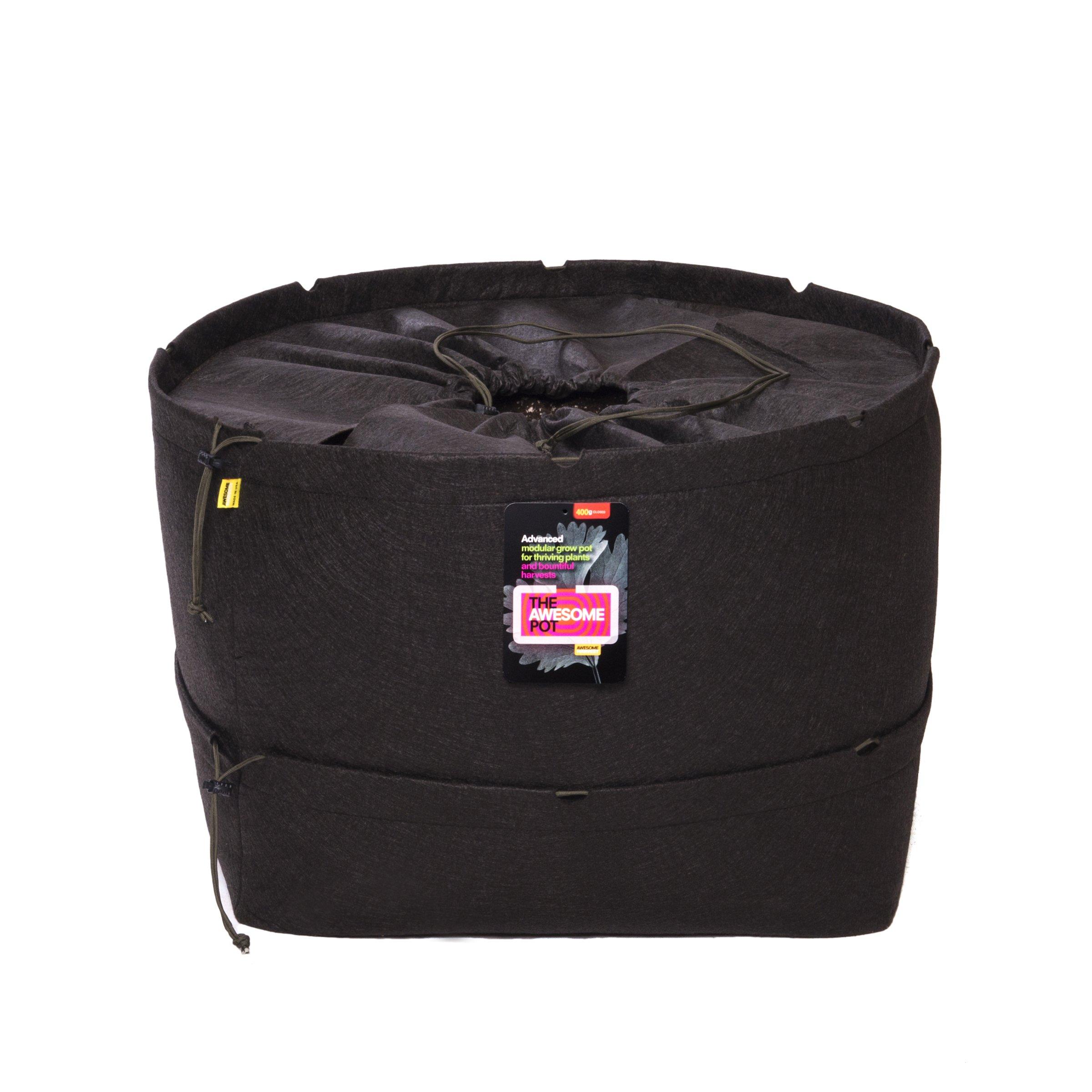 The Awesome Pot APCT400 Closed Top Fabric Grow Bag, 400-Gallon