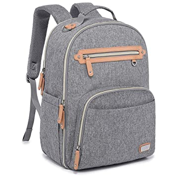 Amazon.com: WELAVILA - Mochila para pañales, bolsa para bebé ...
