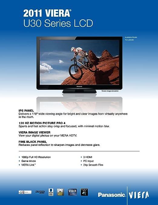 panasonic viera 47 1080p led-lcd hdtv tc-l47e50 manual