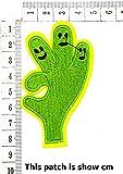 Green OK Fingers Emoji Smile Logo Fantasy Finger