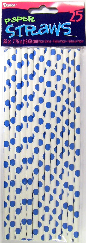 Compra Darice - Plantilla para Grabar 1158 - 55 25 Piezas pajitas de Papel para, Punto Azul en Amazon.es