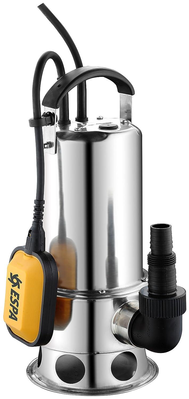 Wasserpumpe Schmutzwasserpumpe Edelstahl Schmutzwasser 1100W viginox 1100AS