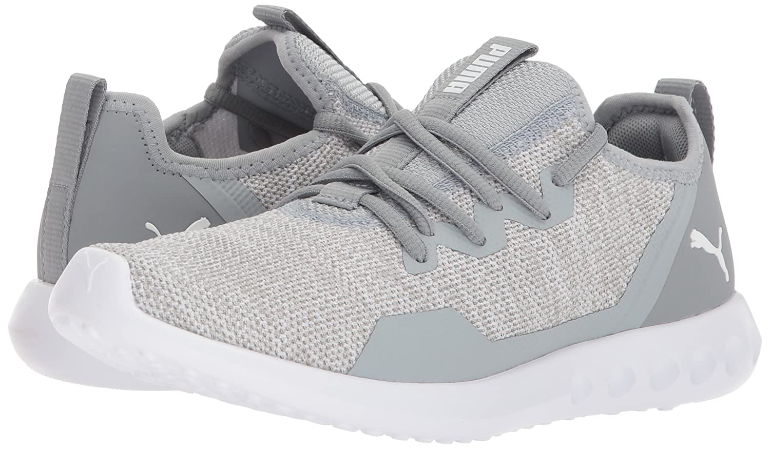 PUMA Women's Carson 2 X Knit Wn US|Quarry-puma Sneaker B071X3FVTC 10 M US|Quarry-puma Wn White 9c2577