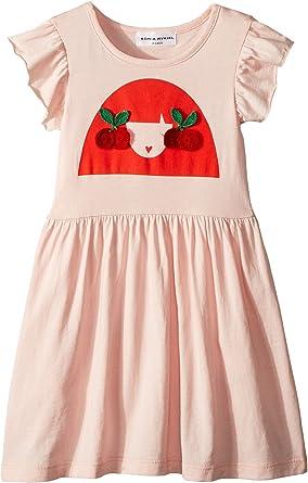 ead13a660c Sonia Rykiel Kids Baby Girl's Ayal Dress w/Cherry Rykiel Girl Design On  Front (