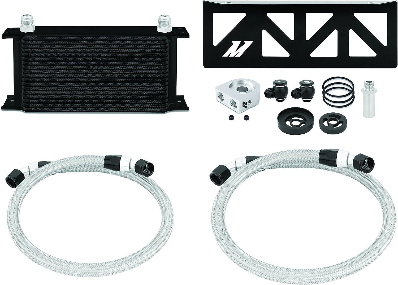 Mishimoto MMOC-BRZ-13BK Oil Cooler Kit Fits Subaru BRZ Scion FR-S 2013+ Black