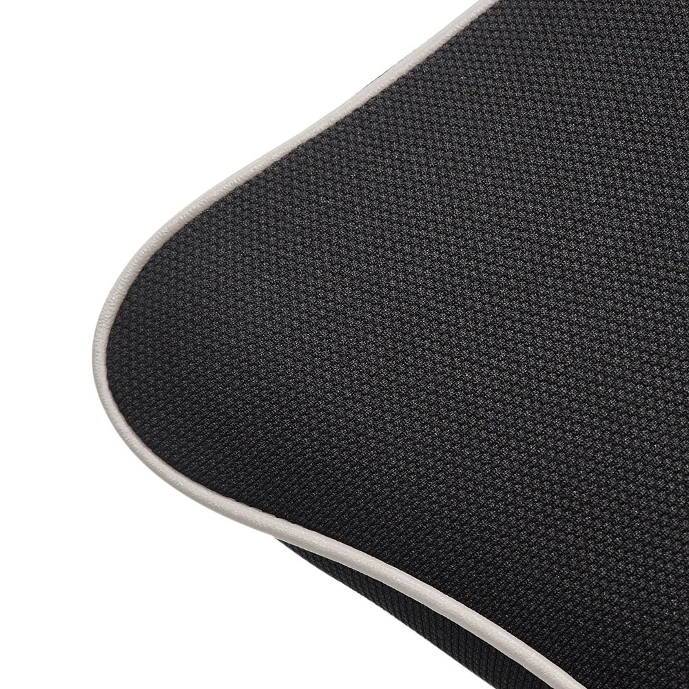 Comfort Breathable Mesh LOCEN Memory Foam Car Cushion Neck Support Travel Pillow Fits Car Home Office Chair Black