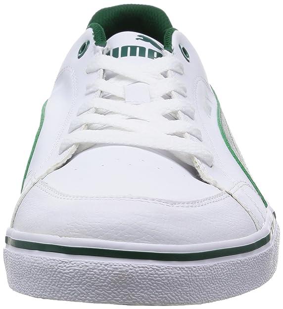 0d7309d40 Puma Court Point Vulc - zapatilla deportiva de material sintético hombre,  color blanco, talla 48.5: Amazon.es: Zapatos y complementos