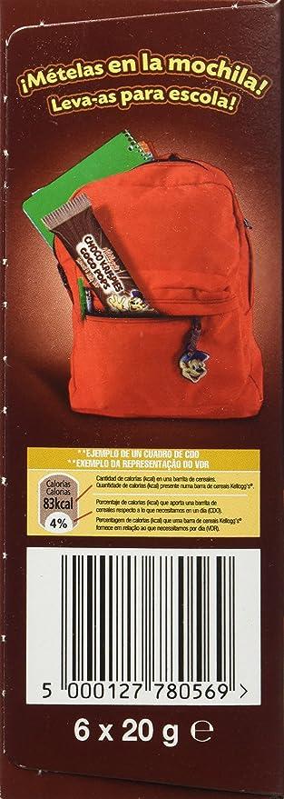 Choco Krispies Barrita de Cereales con Cacao y leche - Pack de 6 x 20 g - Total: 120 g: Amazon.es: Amazon Pantry