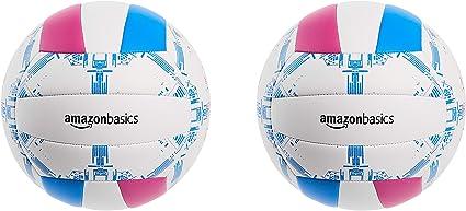 AmazonBasics - Balón de voleibol para uso recreativo de talla 5 ...