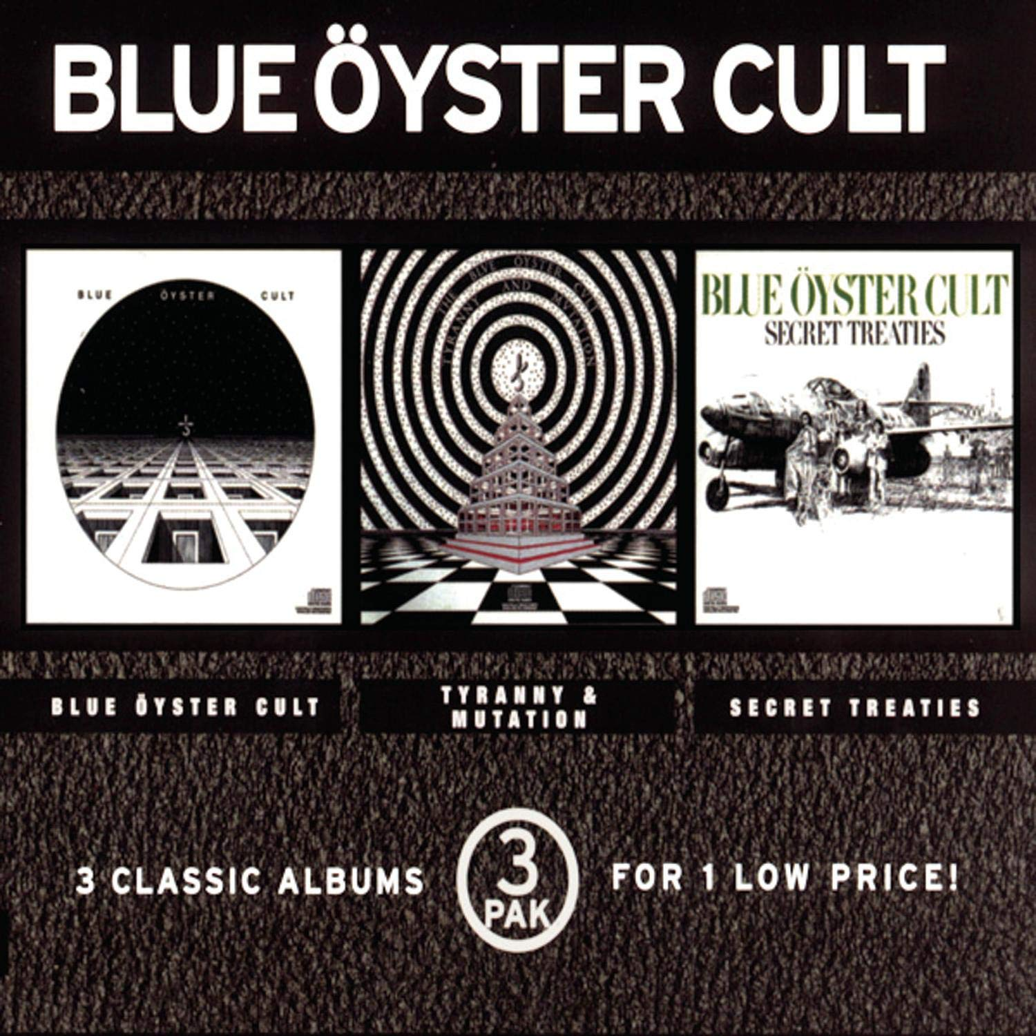 Blue Oyster Cheap super special price Cult Tyranny Secret Mutation 3CD All items in the store Treaties